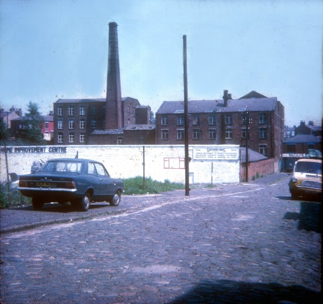 Brookfield Street, (future site of B&Q DIY store), Preston 1971