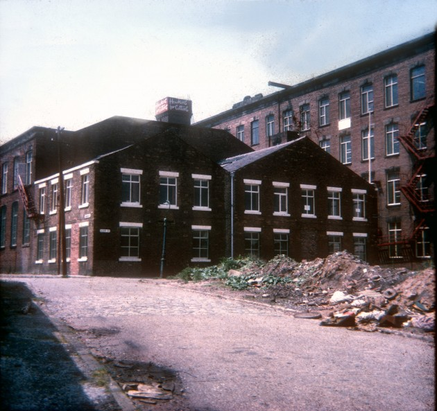 Hawkins Greenbank Mill from Ashmore Street, Preston 1971