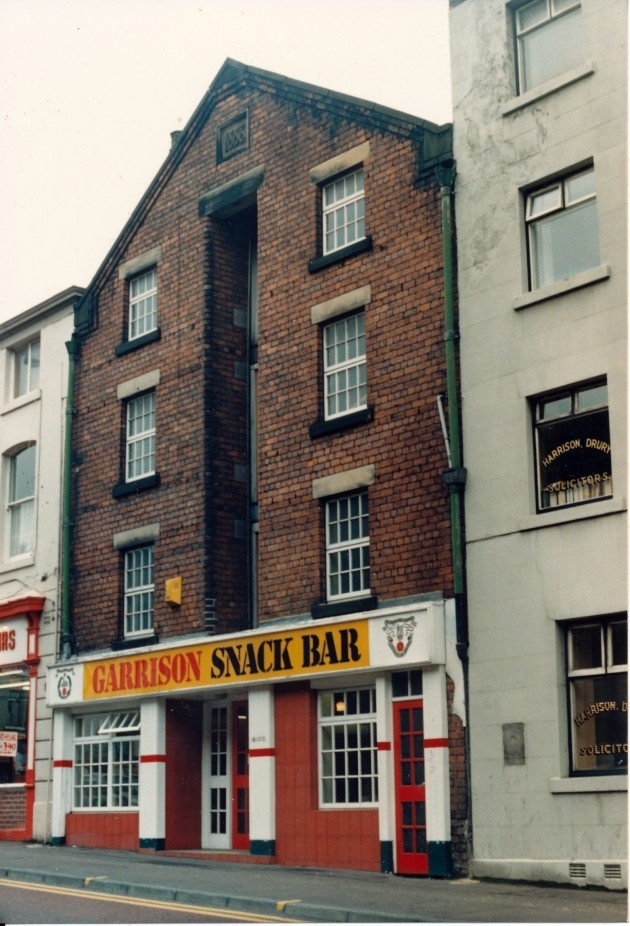 Garrison Snack Bar, Fleet Street, Preston July 1987