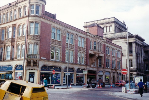Miller Arcade & Lancaster Road From Church Street, Preston September 1989