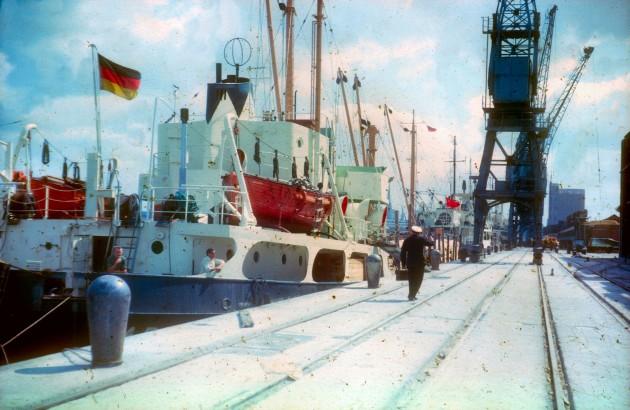 Preston Docks 1965