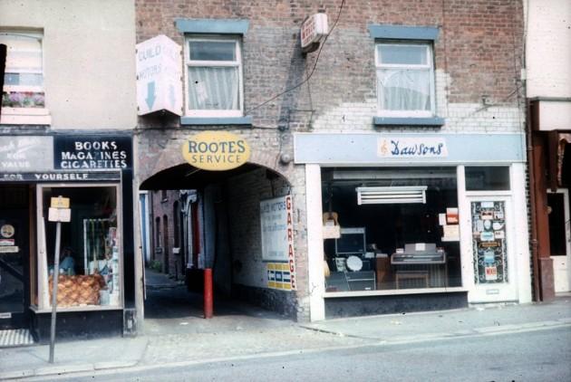 Tommony's Yard, Friargate, Preston c.1985: Pic Preston Historical Society