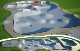 How the new skate park may look