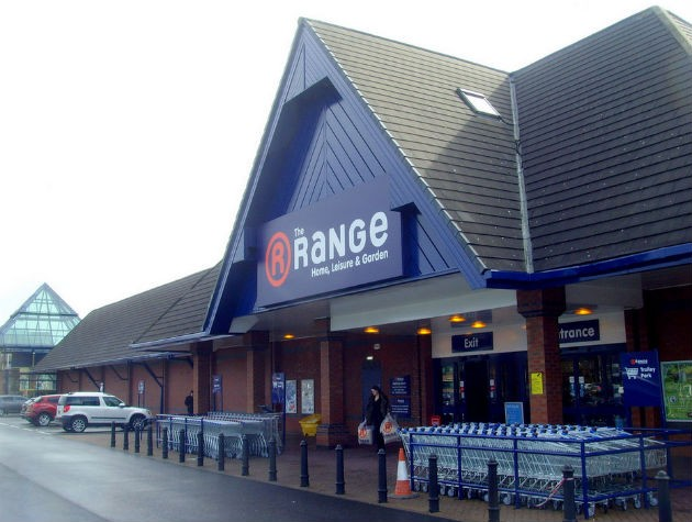 The Range Home Store Open At Queen Street Retail Park