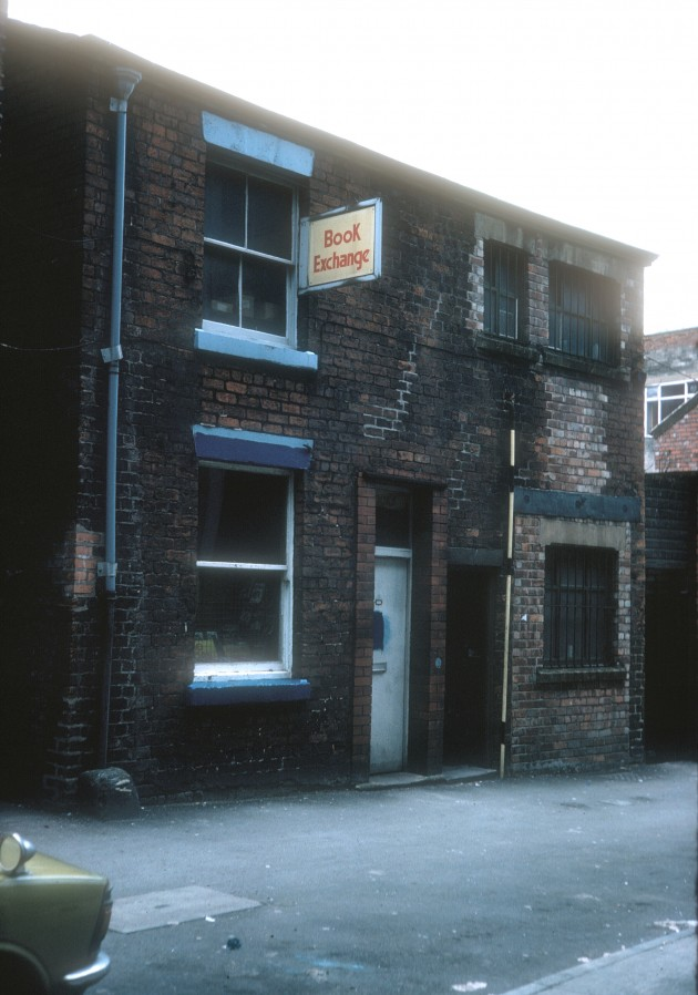 Book Exchange on Lowthian Street, Preston 1979