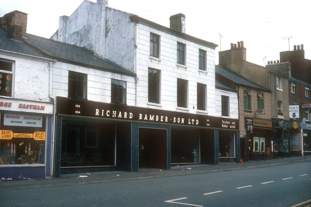 Bambers Furniture Store, Friargate, Preston 1976