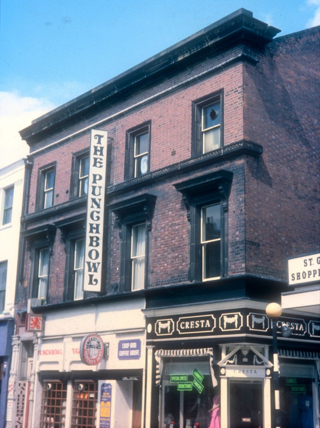 The Punchbowl, Fishergate, Preston c.1972