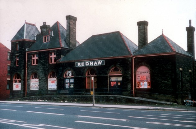 Former Station of The West Lancashire Railway. Fishergate Hill, Preston, c.1975: I put up a picture of the rear of this place last week in part 4. Can't say that I remember this place at all. Anyone else?