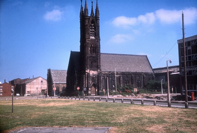 St Saviours Church, Manchester Road, Preston 1971