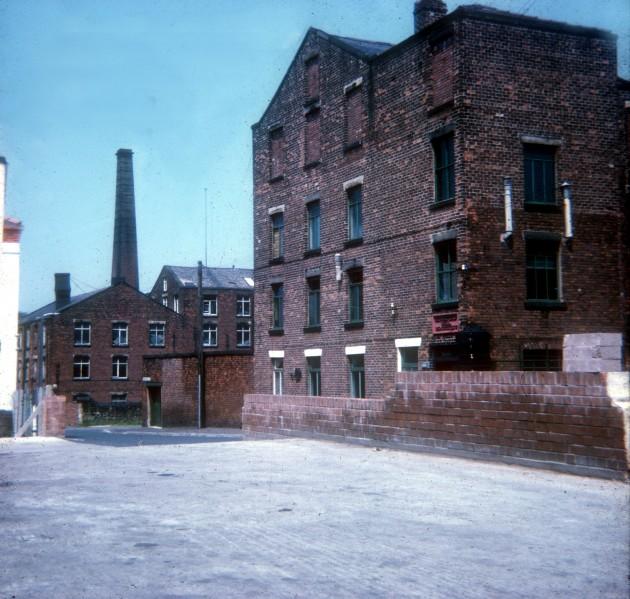 Broomfield Mill and beyond, Broomfield Mill Street, Preston 1971