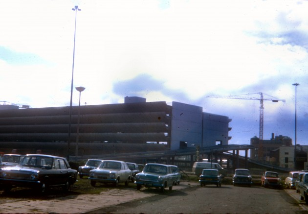 New Central Bus Station, Preston 1971