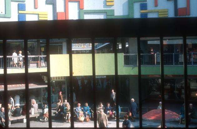 Rotunda St Georges Shopping Centre, Preston 1969