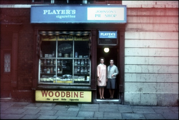 Johnsons Pie Shop. 56, Tithebarn Street, Preston c.1967