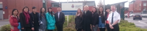 The Chinese and Police communities coming together to set up the helpline