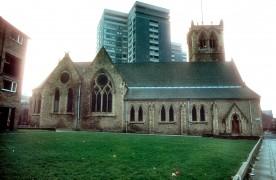 St James Church, Avenham Lane, Preston c.1978