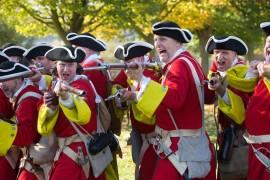 Queens Regiment at Hampton Court