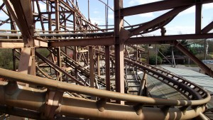 Camelot's old rollercoasters