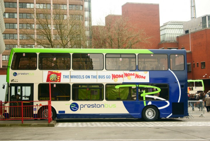 Preston Bus has announced the fare-free hour Pic: Gary Bond