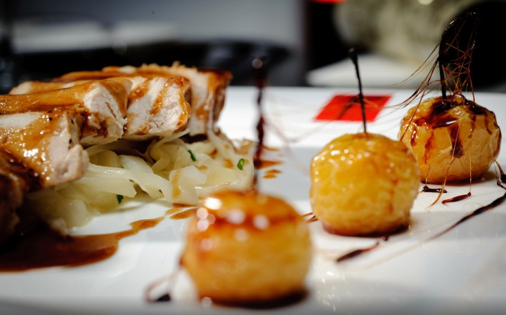 Barnsley's Pork with glazed apples Pic: TripAdvisor