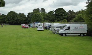Travellers on the Penwortham Recreation Ground