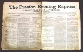 Feature Image - Preston evening Express