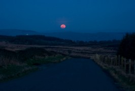 The moon will turn red over Preston Pic: pixielulu