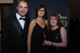 Gold Medal Travel based at Preston docks also picked up an award
