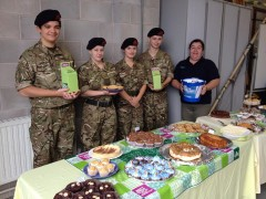 Preston Sea Cadets, volunteers and supporters raised over £200 last year