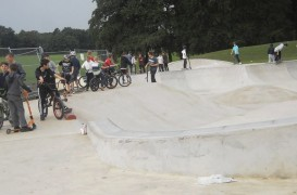 Moor Park Skate Park already proving popular. Pic: Keith Anthony Johnson