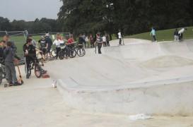 Moor Park Skate Park already proving popular. Pic: Keith Anthony Johnson