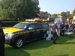 Police were also joined by partners including HM Coastguard at the Behind The Badge weekend
