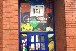 Opening date confirmed for Dice & Donuts