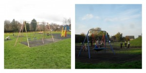 Jubilee Park as it was and how it is now