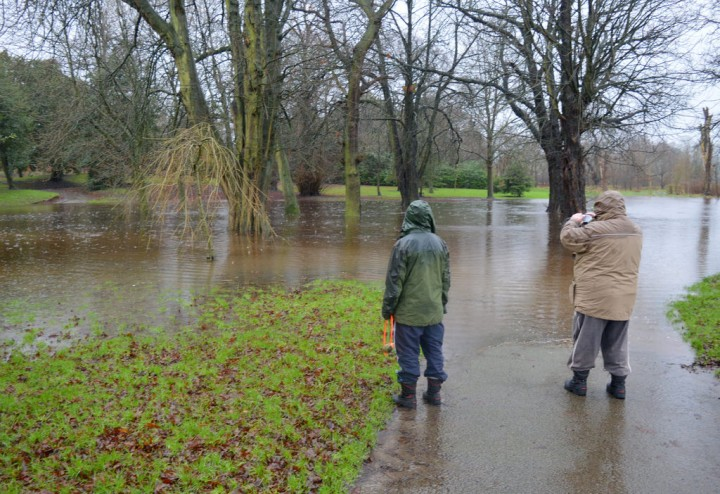 Ashton Park's new water feature Pic: Tony Worrall