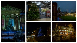Christmas trees captured by Keith during December 2015
