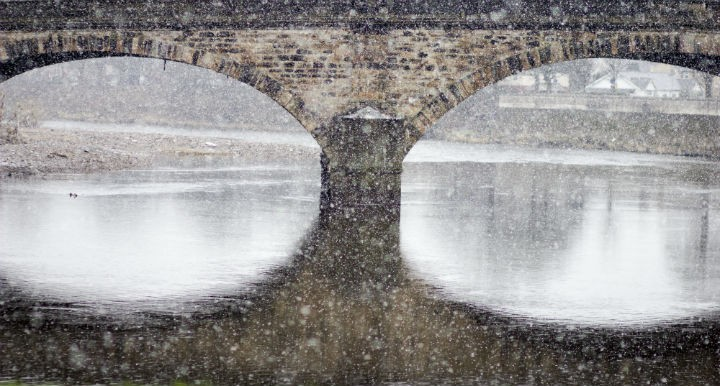Snow on the Ribble