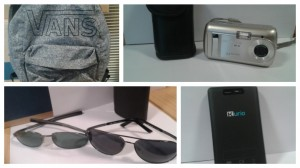 A number of the items taken during the burglary