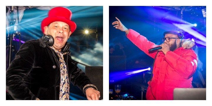 Craig Charles and MistaJam both played hour-long sets in Preston Pic: Paul Melling