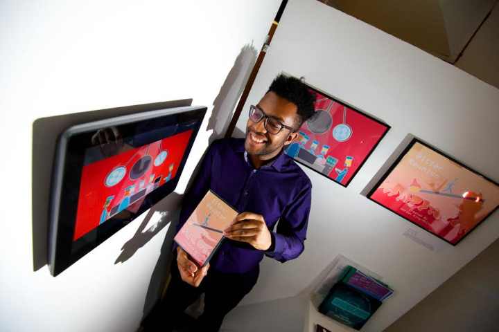 Jordan King-McCoy, nominated for the Animation category.