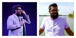 Romesh Ranganathan (left hand pic: Andy Hollingworth