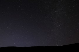 Stargazers will get the chance to look at the night sky with astronomy experts Pic: Aran Smithson