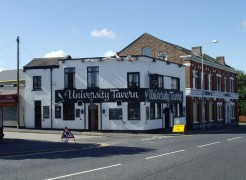 The University Tavern pictured in 2007 Pic: Tony Worrall