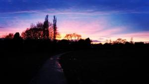 Sunset by Benny McNally