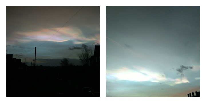 Jamie Wood captured these pictures of the clouds