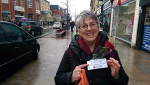 Julie Ward, Labour MEP for the North West, in Preston