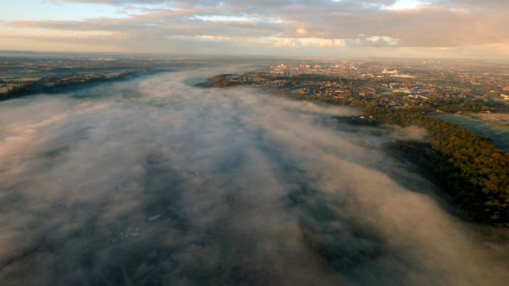 A misty morning along the River Ribble Pic: Stephen Melling