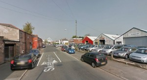 Skeffington Road was shut for part of Tuesday afternoon