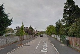 Woodlands Avenue where the motorbike was found Pic: Google
