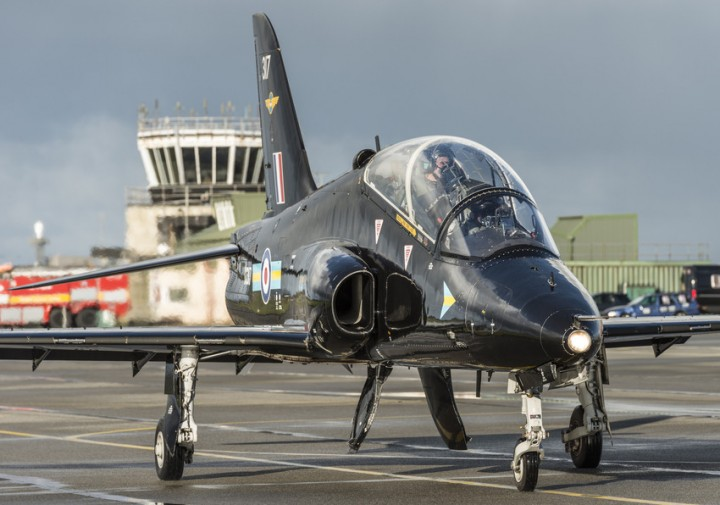 Hawk operations at RAF Valley
