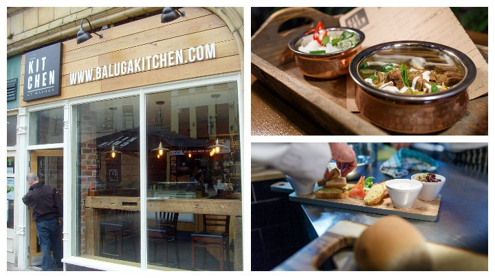 Baluga kitchen opens with takeaway menu and outdoor for Perfect kitchen takeaway menu